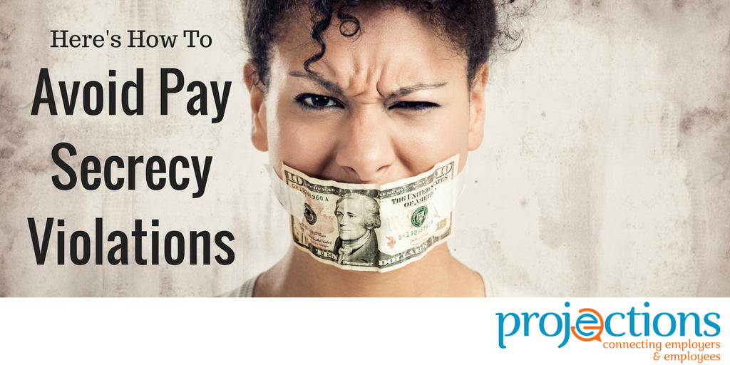 avoiding pay secrecy violations