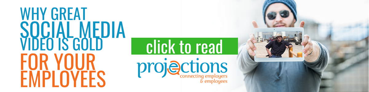 Social Media Video Is Gold For Your Employees from Projections, Inc.
