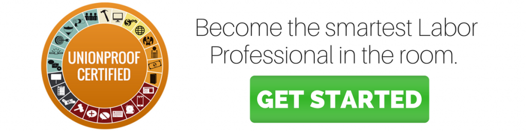 become the smartest labor professional in the room from unionproof